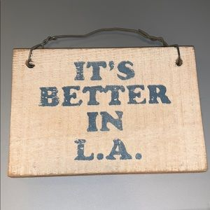 Brandy Melville Wall Sign